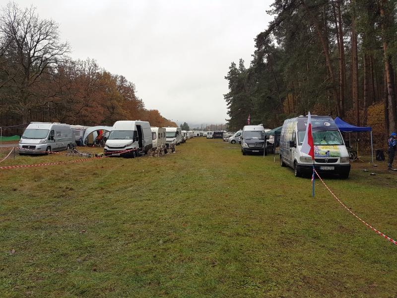 Championnat d'Europe à Lauf in der Pegnitz (D) - Parc-coureurs